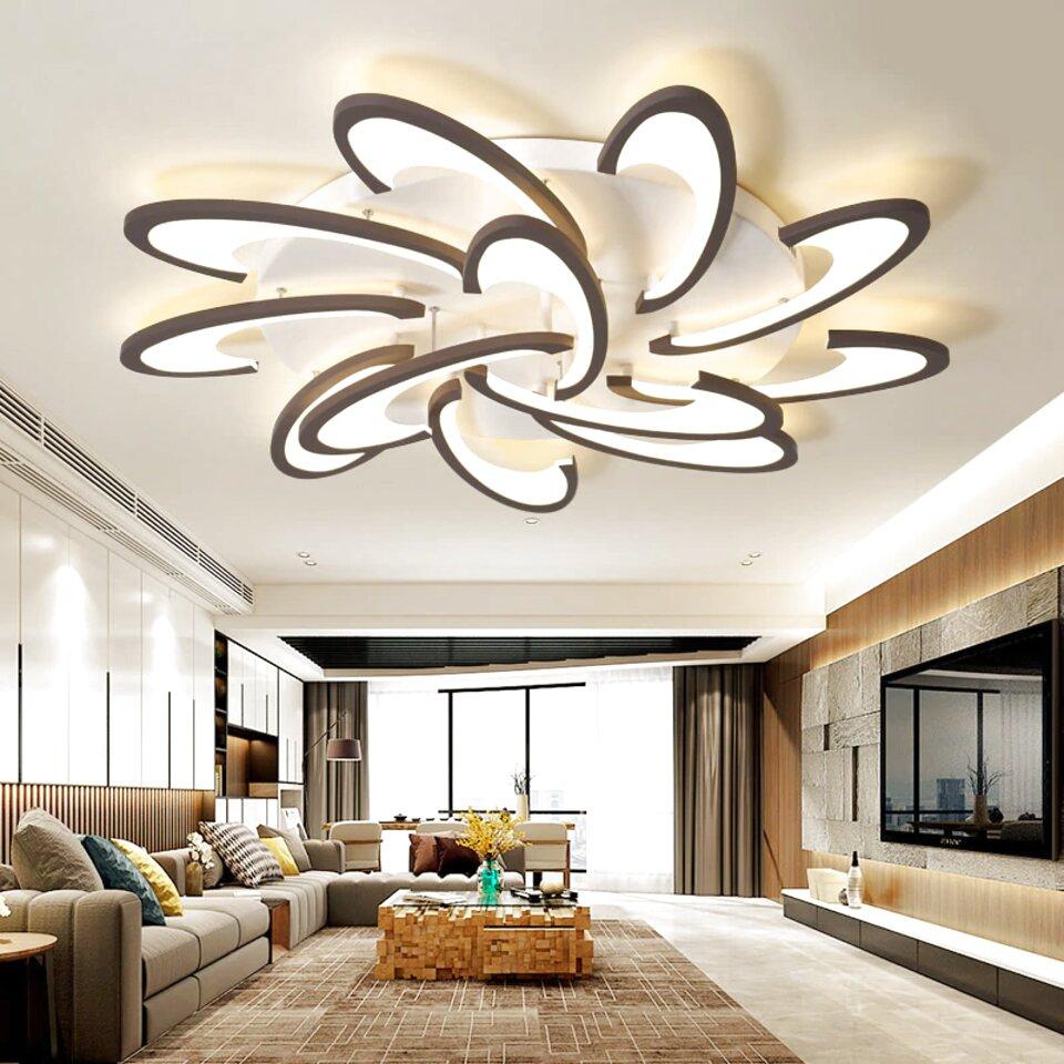Lampe Plafond Salon Design lustre design