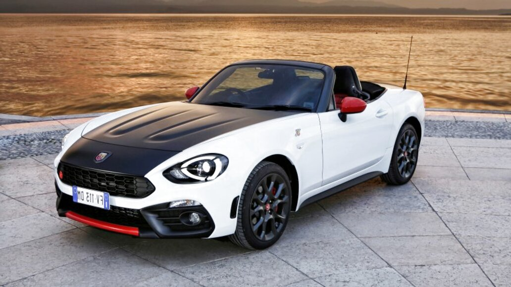 abarth 124 spider d'occasion