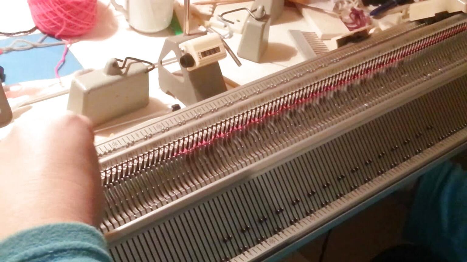 machine a tricoter singer d'occasion